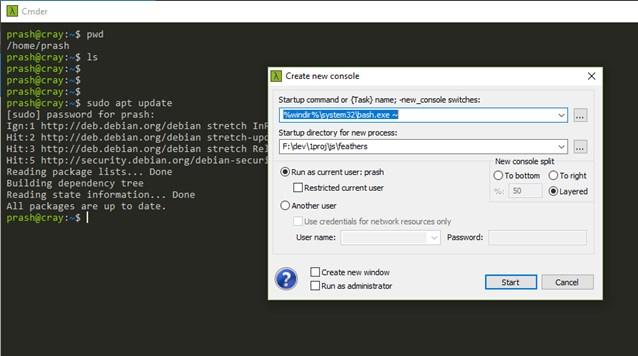 The Right WSL Setup for using Node - techformist