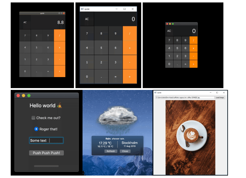 Modern Desktop UI Using Javascript and Qt - techformist